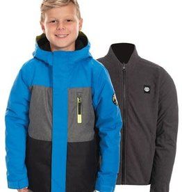 686 2020 686 Boy's Smarty Insulated Jacket Blue/Black Size Small