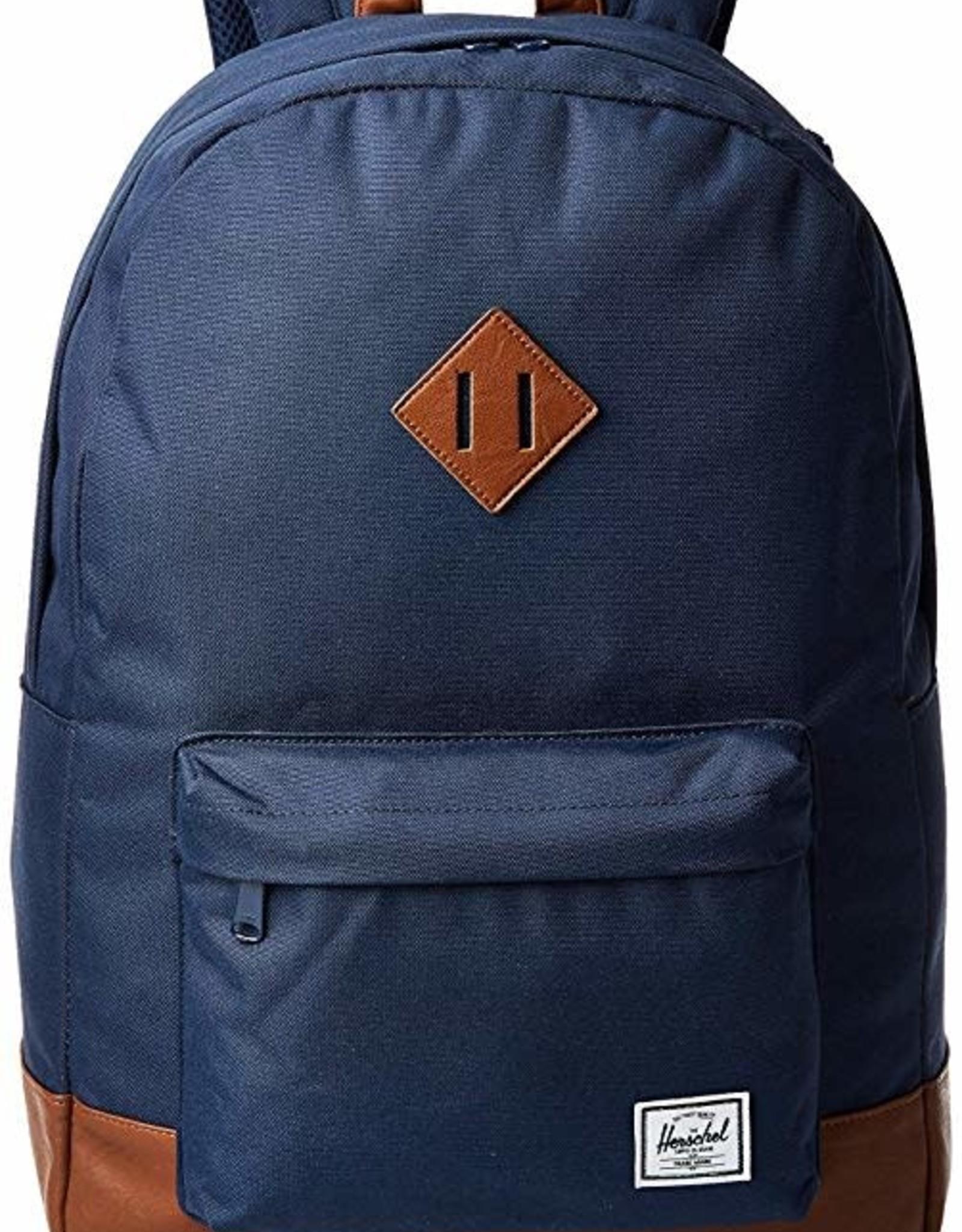 Herschel Herschel Heritage Nylon Navy Backpack