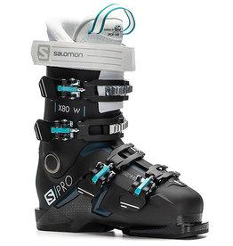 Salomon Salomon Boots S/PRO X80 W Black/White/Petrol Blue Size 23/23.5