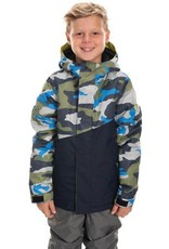686 686 Boys Cross Insulated Jacket Navy Camo