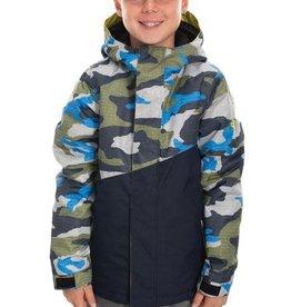 686 686 Boys Cross Insulated Jacket Navy Camo Small