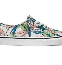 Vans Authentic Woman's Shoe Tropical Leaves