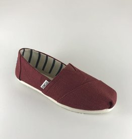 Toms Toms Alpargata Black Cherry Heritage Canvas
