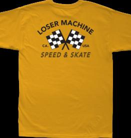 Loser Machine Loser Machine Daytona Stock Tee Gold
