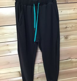 RDS RDS Womens Sweatpant 737 Black Size Extra Small