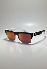 Spy Discord 5050 Whitewall - HD Plus Gray Green with Red Spectra Mirror