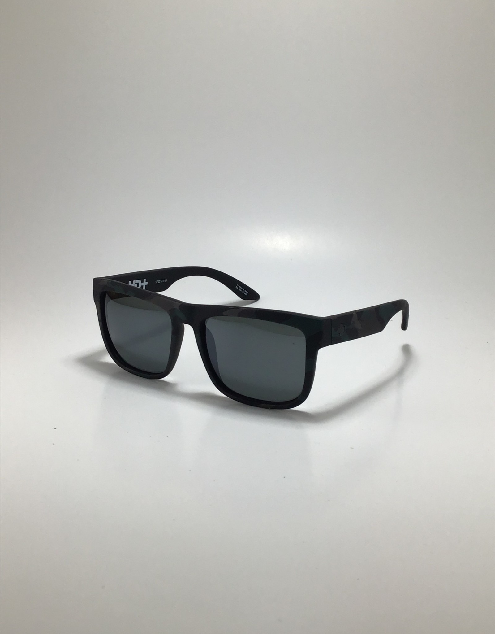 Spy Discord Stealth Camo - HD Plus Gray Green with Black Spectra Mirror