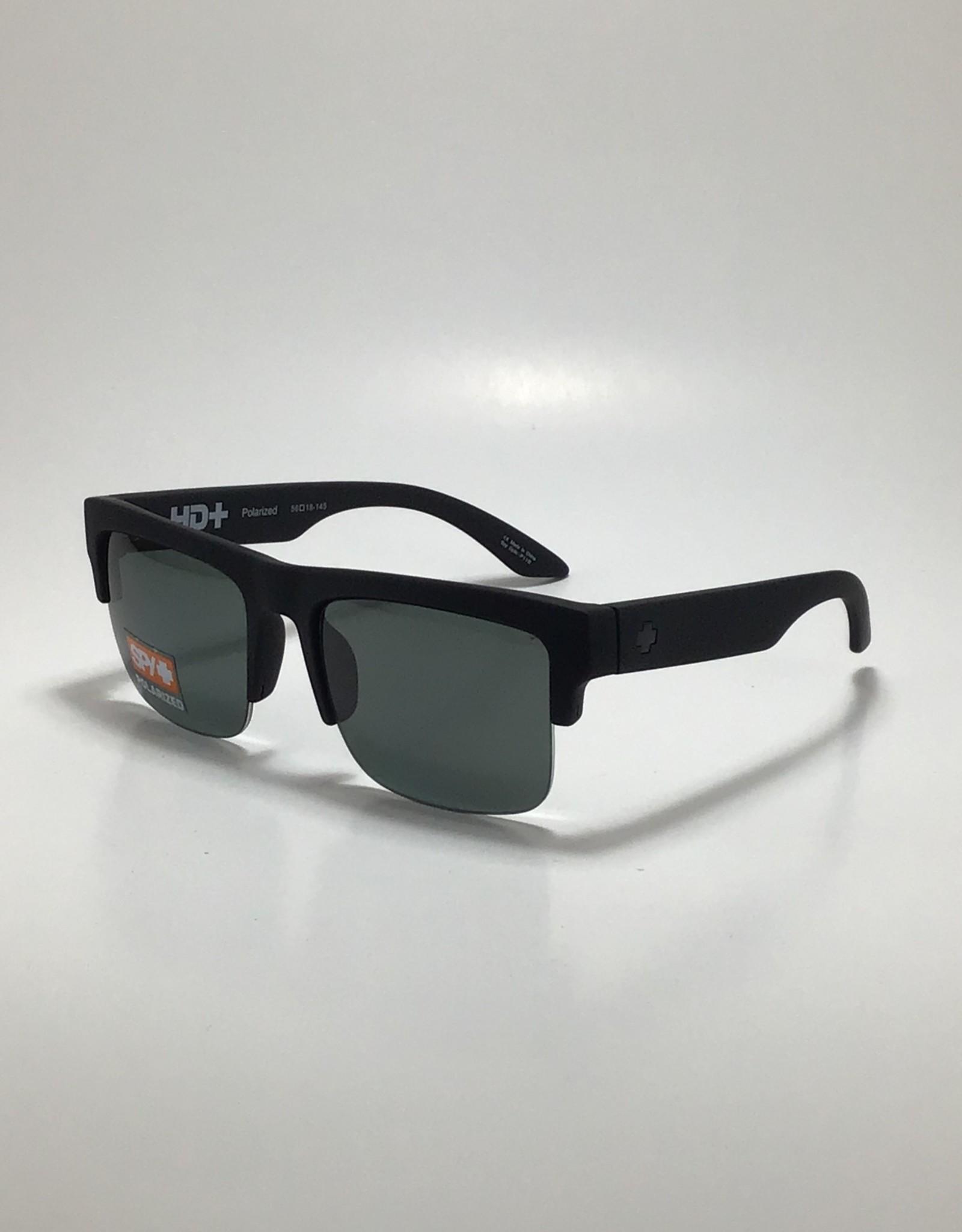 Spy Discord 5050 Soft Matte Black - HD Plus Gray Green Polar