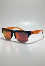 Spy Discord 5050 Soft Matte Black Translucent Orange - HD Plus Gray Green with Orange Spectra Mirror