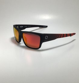 Spy Dirty Mo 2 Matte Black Red Burst-HD Plus Rose Polar with Red Spectra Mirror