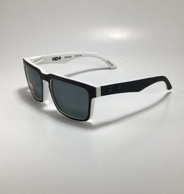 Spy Helm Whitewall - HD Plus Gray Green Polar with Black Spectra Mirror