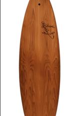 Pacific Island Wooden Surfboard