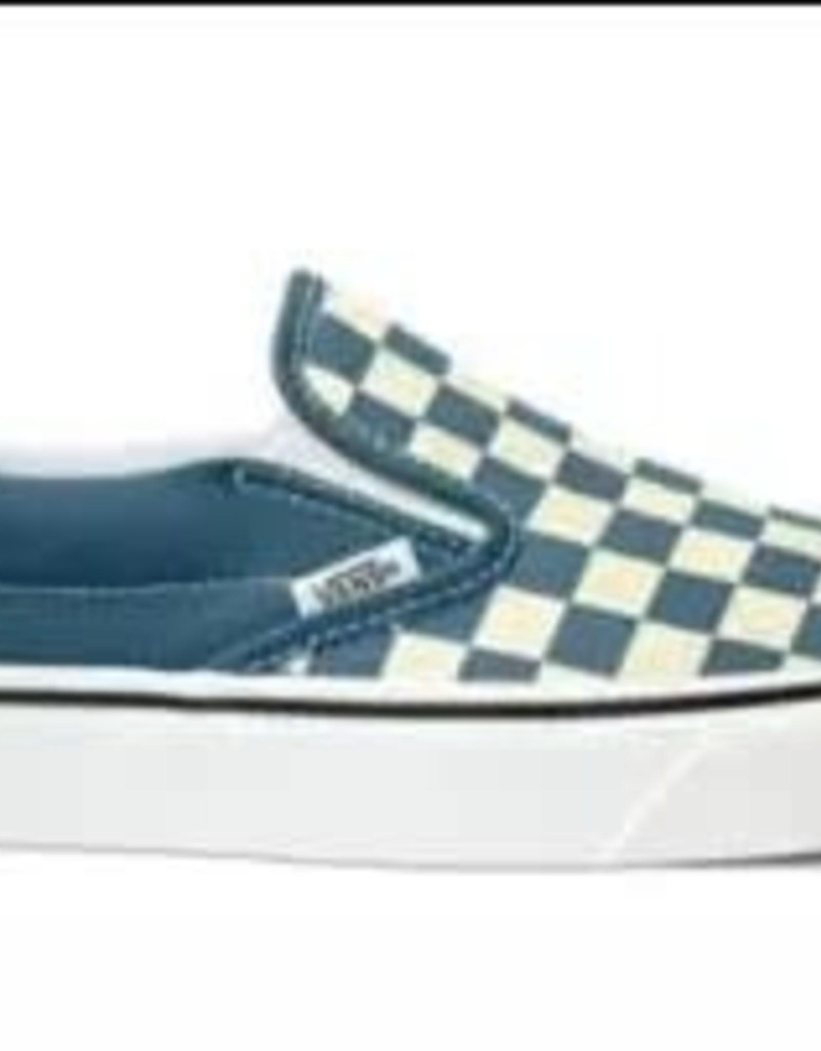Vans VANS Classic Slip-On CHECKERBOARD Blue
