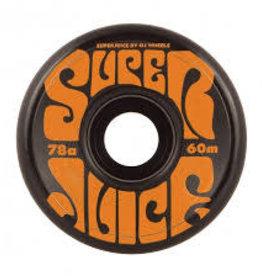 OJ'S OJS WHEELS SUPER JUICE BLACK 78A 60mm