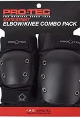 Pro-tec PRO-TEC - STREET /KNEE/ELBOW PAD SET - BLACK Med
