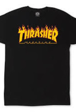 Thrasher Thrasher Flame Tee Black