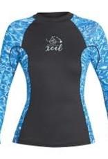 Xcel Xcel Women's Rashguard Water Inspired 6oz. L/S