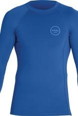 Xcel Exel Men's Solid 6oz L/S Rashguard Faint Blue
