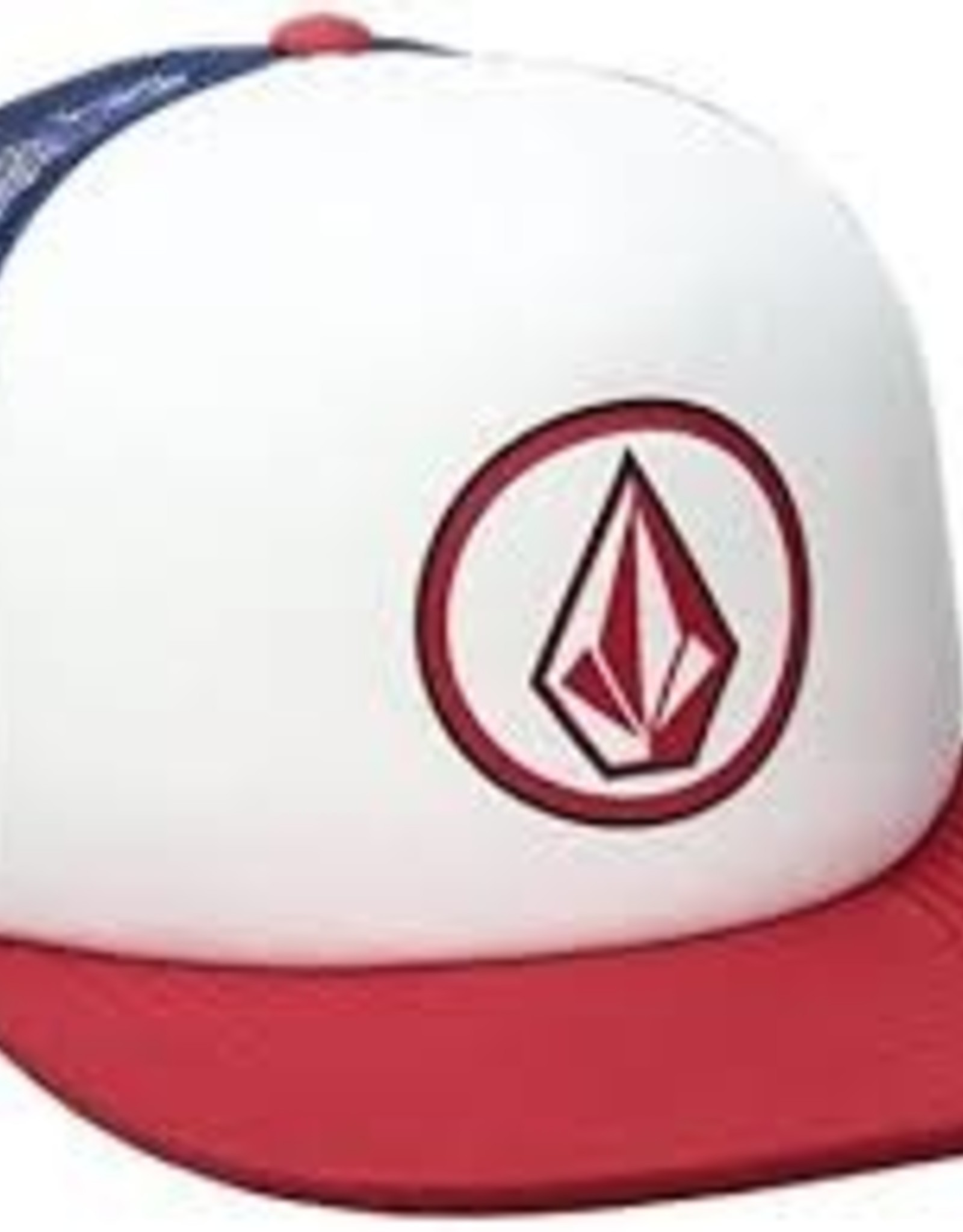 Volcom Volcom Full Frontal Cheese Flame Red Hat