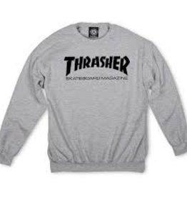 Thrasher THRASHER SKATE MAG CREW GREY