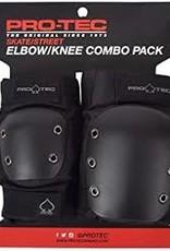 Pro-tec PRO-TEC - STREET /KNEE/ELBOW PAD SET - BLACK SML