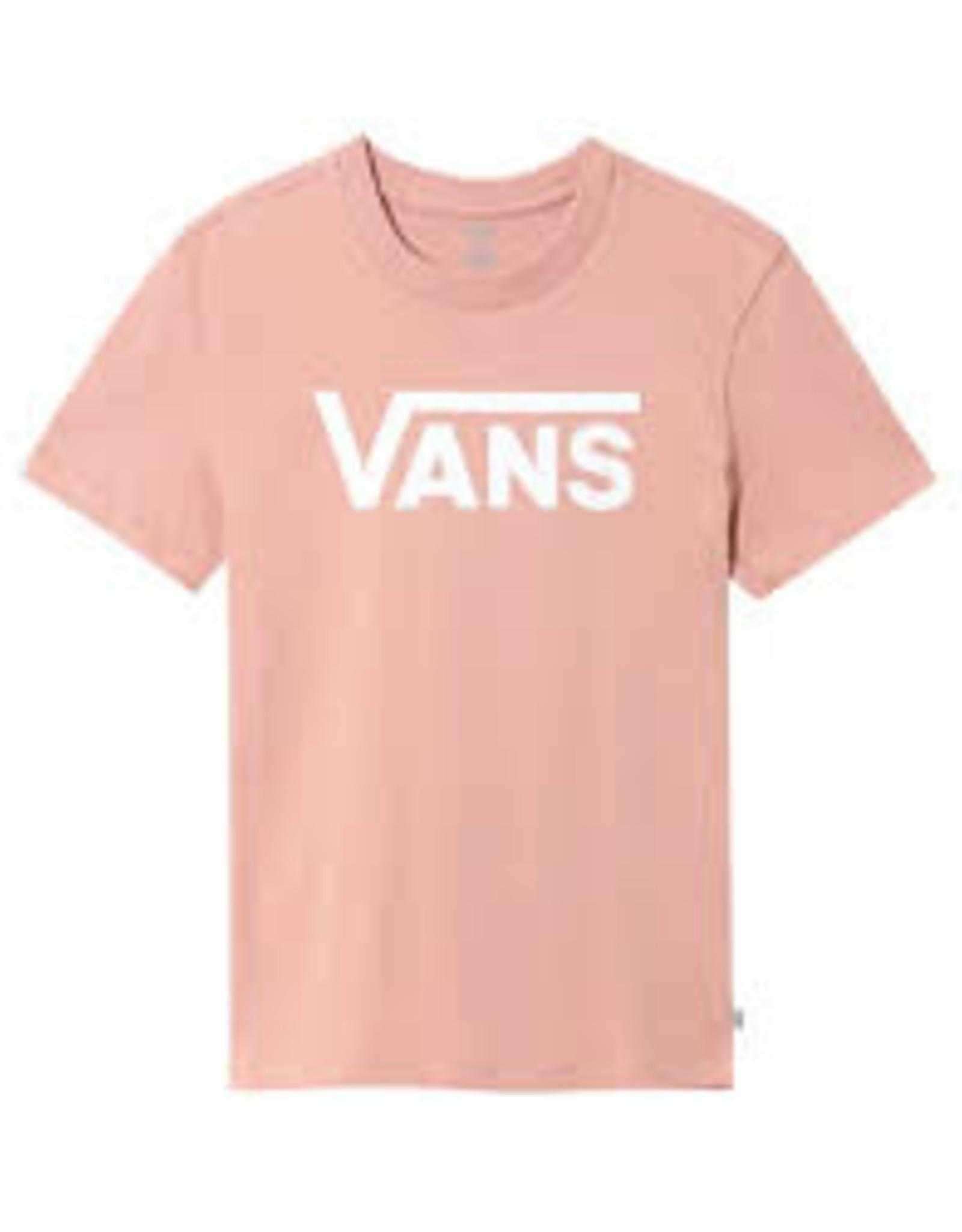 Vans VANS FLYING V CREW TEE ROSE DAWN