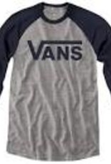Vans VANS CLASSIC RAGLAN ATHLETIC HEATHER/BLUE