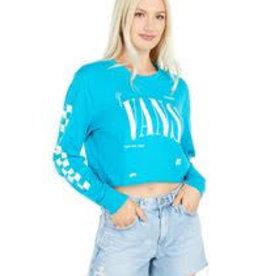 Vans VANS KAYE CROP LS enamel blue