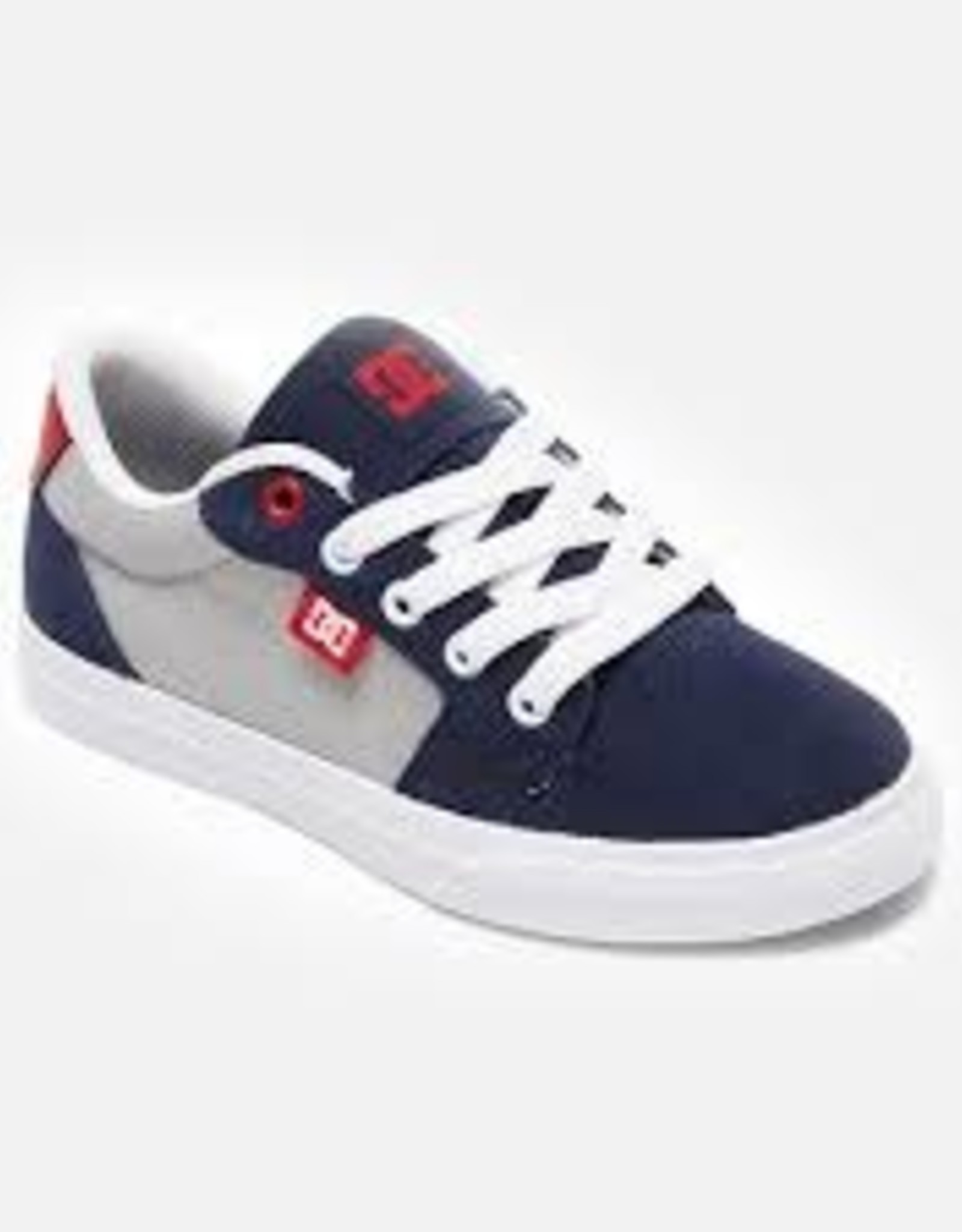 DC DC Anvil Grey/Red/White youth