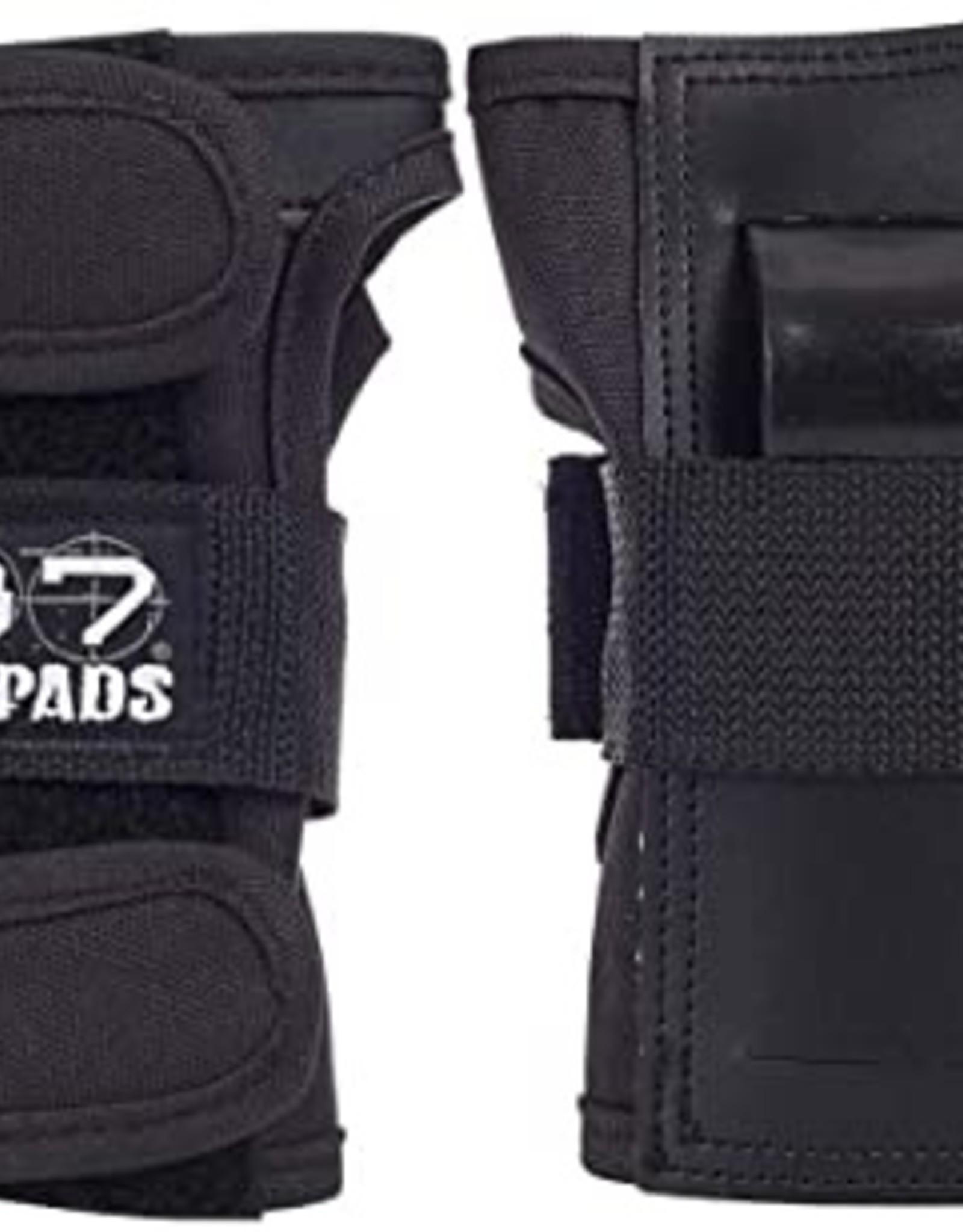 187 187 Wrist guards Black