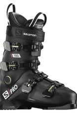 Salomon S/PRO 100 BLACK/Belluga/Red