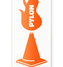 """Pylon PYLON THE SHOVEL - WHITE / 8.25"""""""