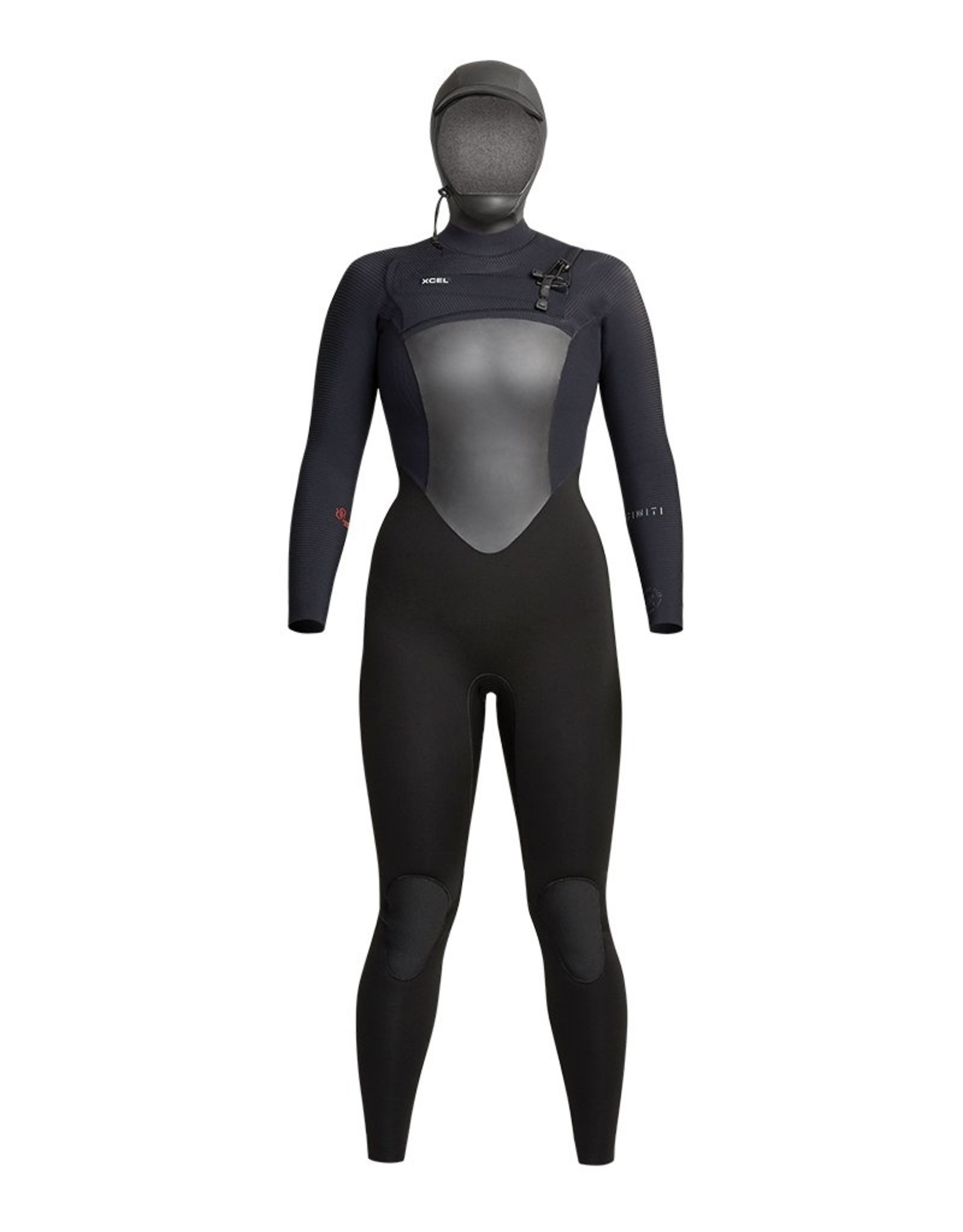 Xcel Womens Infiniti 5/4mm Hooded Fullsuit