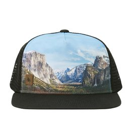 Hippy Tree TUNNEL VIEW ECO HAT BLACK
