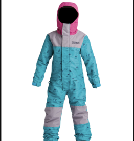 Airblaster YOUTH FREEDOM SUIT TEAL/DK LAVENDER