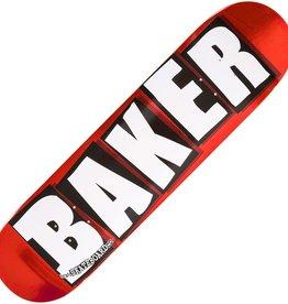 Baker BAKER Brand Logo Red Foil Deck 8.0