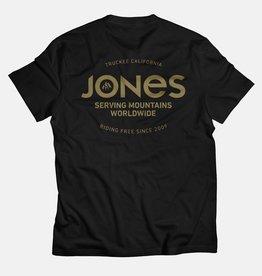 Jones JONES TEE RIDING FREE BLACK & TAN