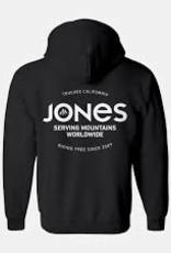 Jones JONES HOODIE RIDING FREE BLACK