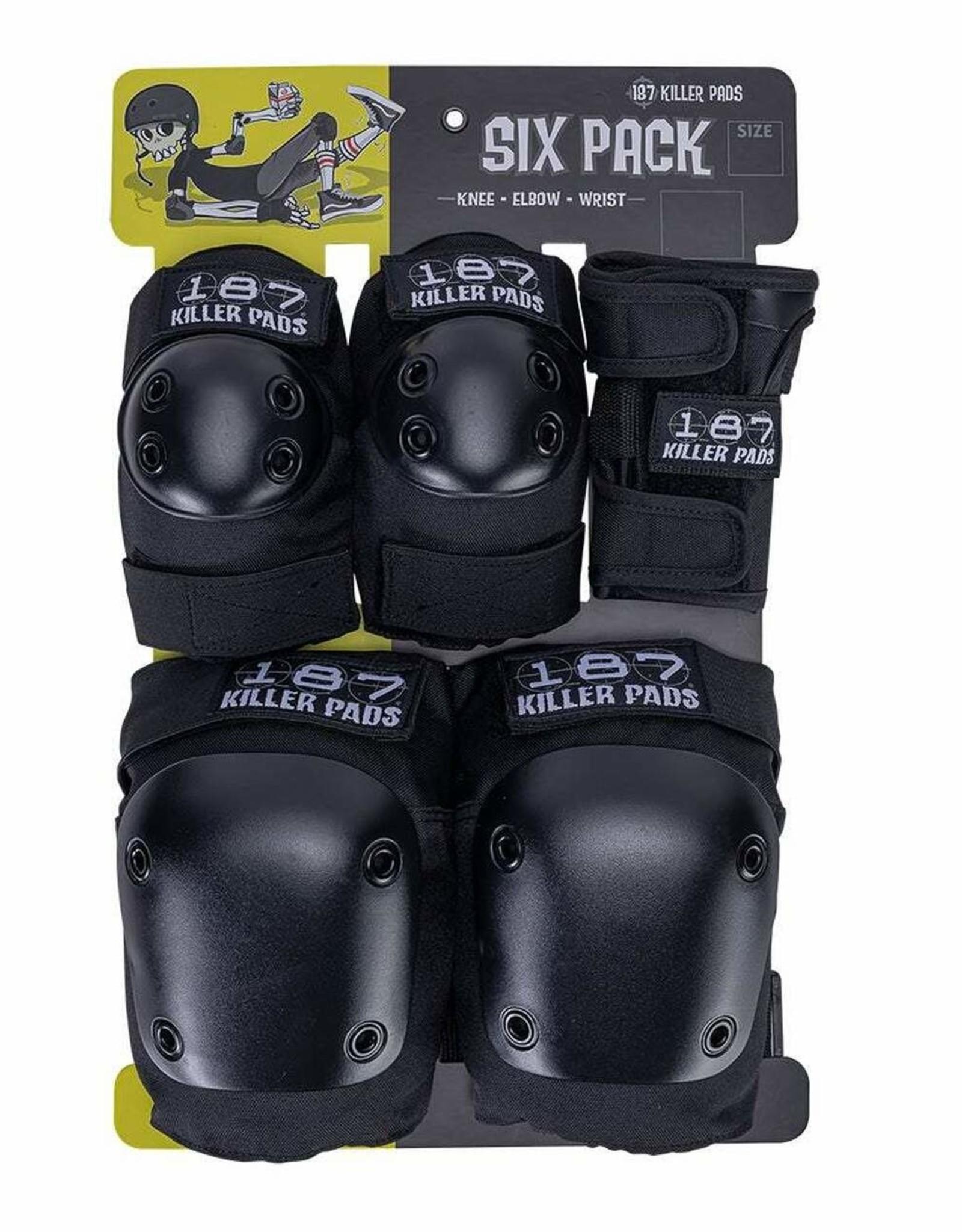 187 187 - ADULT SIX PACK PAD SET Lrg/XL