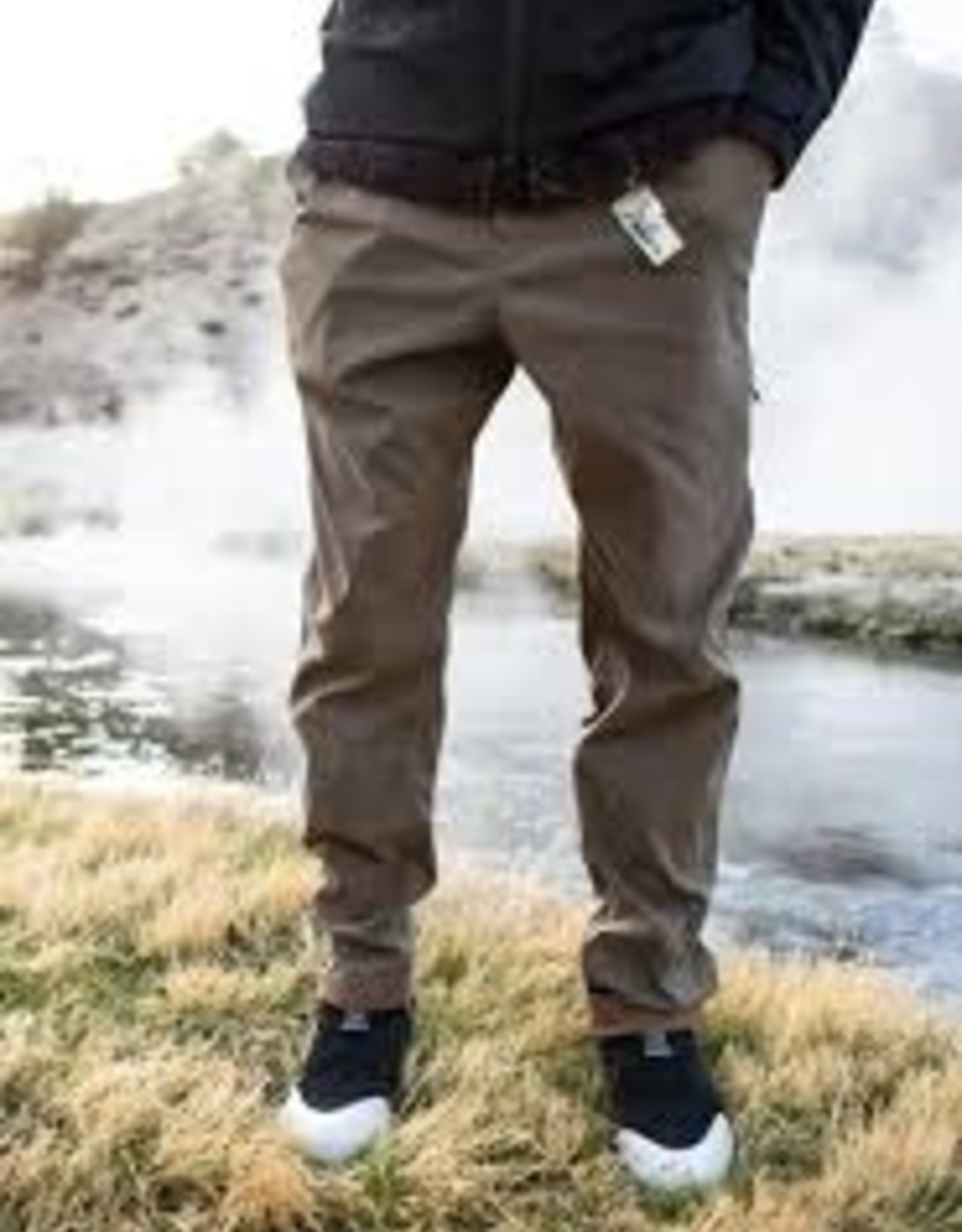686 686 EVERYWHERE PANT - SLIM FIT TABACCO