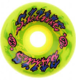 Slimeballs SLIME BALLS WHEELS GOOOBERZ BIG BALLS YEL 97A 65mm
