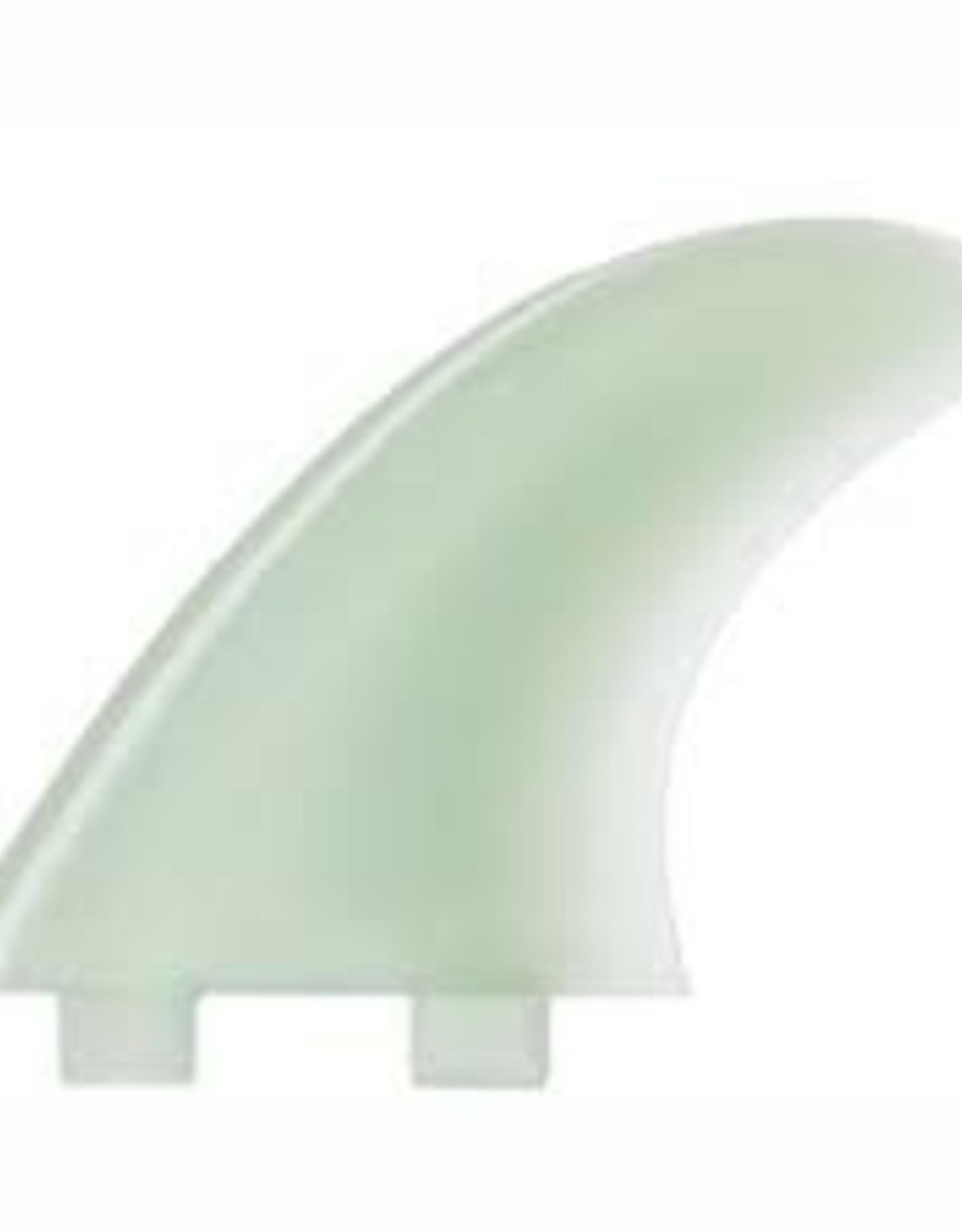 FCS FCS M5 Natural Glass Flex Tri Fin Set