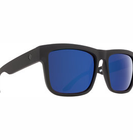 Spy Discord Matte Black HD Plus Bronze Polar with Blue Spectra Mirror