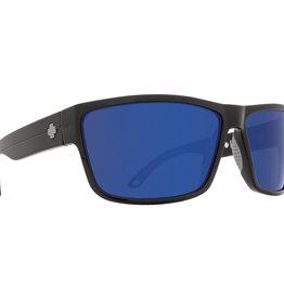 Spy Rocky Soft Matte Black HD Plus Dark Gray Green Polar with Dark Blue Spectra Mirror