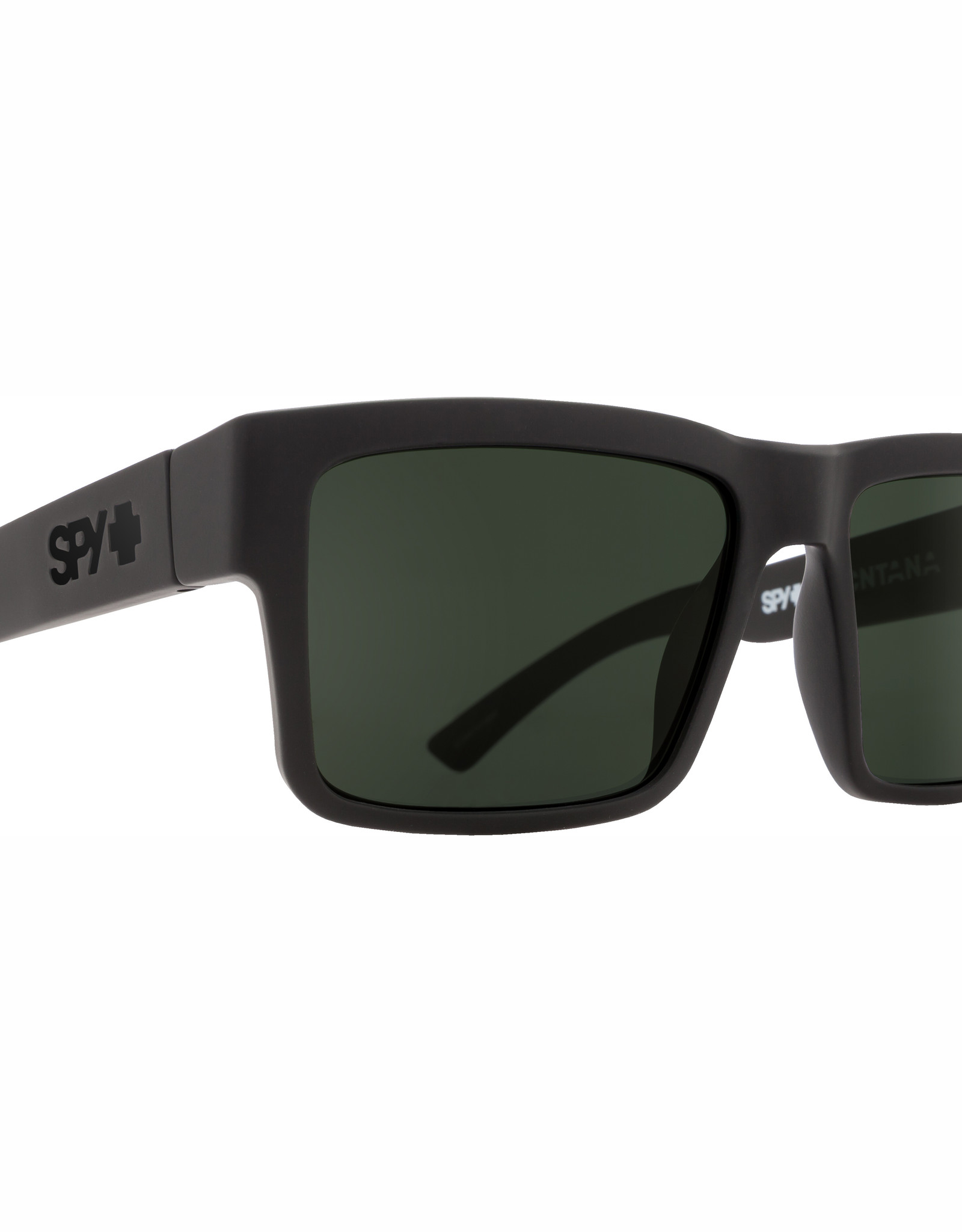Spy Montana Soft Matte Black HD Plus Gray Green Polar