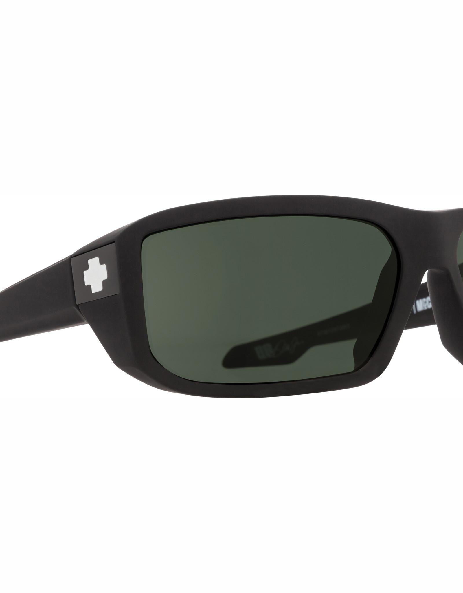 Spy Mccoy Soft Matte Black HD Plus Gray Green Polar