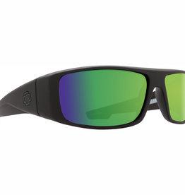 Spy Logan Matte Black HD Plus Bronze Polar with Green Spectra Mirror