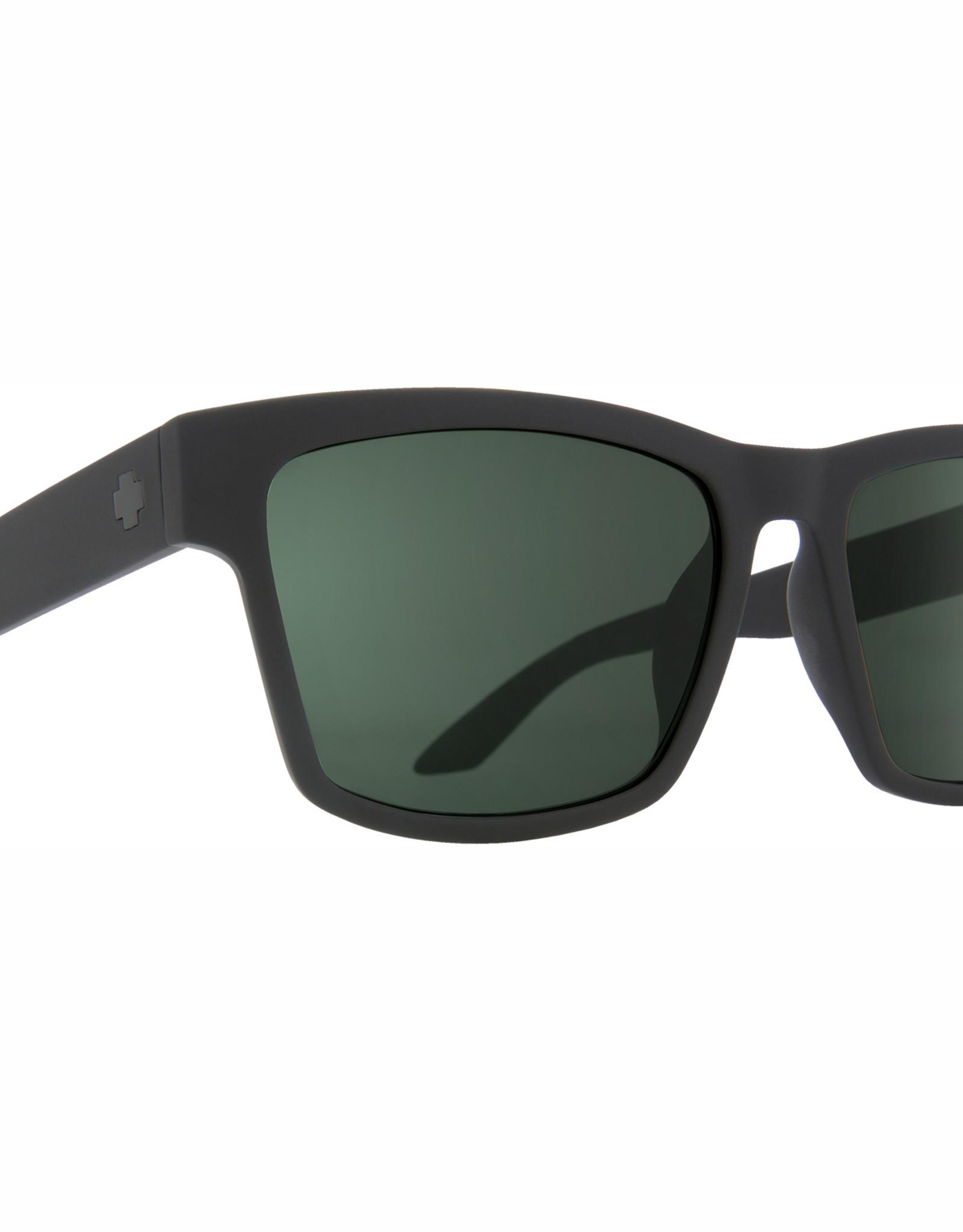 Spy Haight 2 Soft Matte Black HD Plus Gray Green Polar