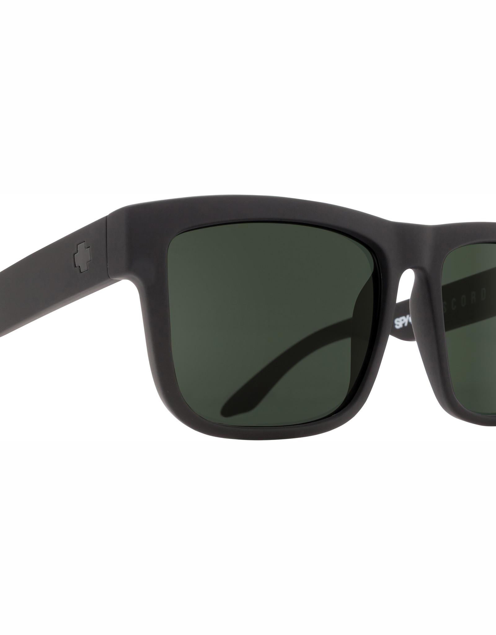 Spy Discord Soft Matte Black HD Plus Gray Green Polar
