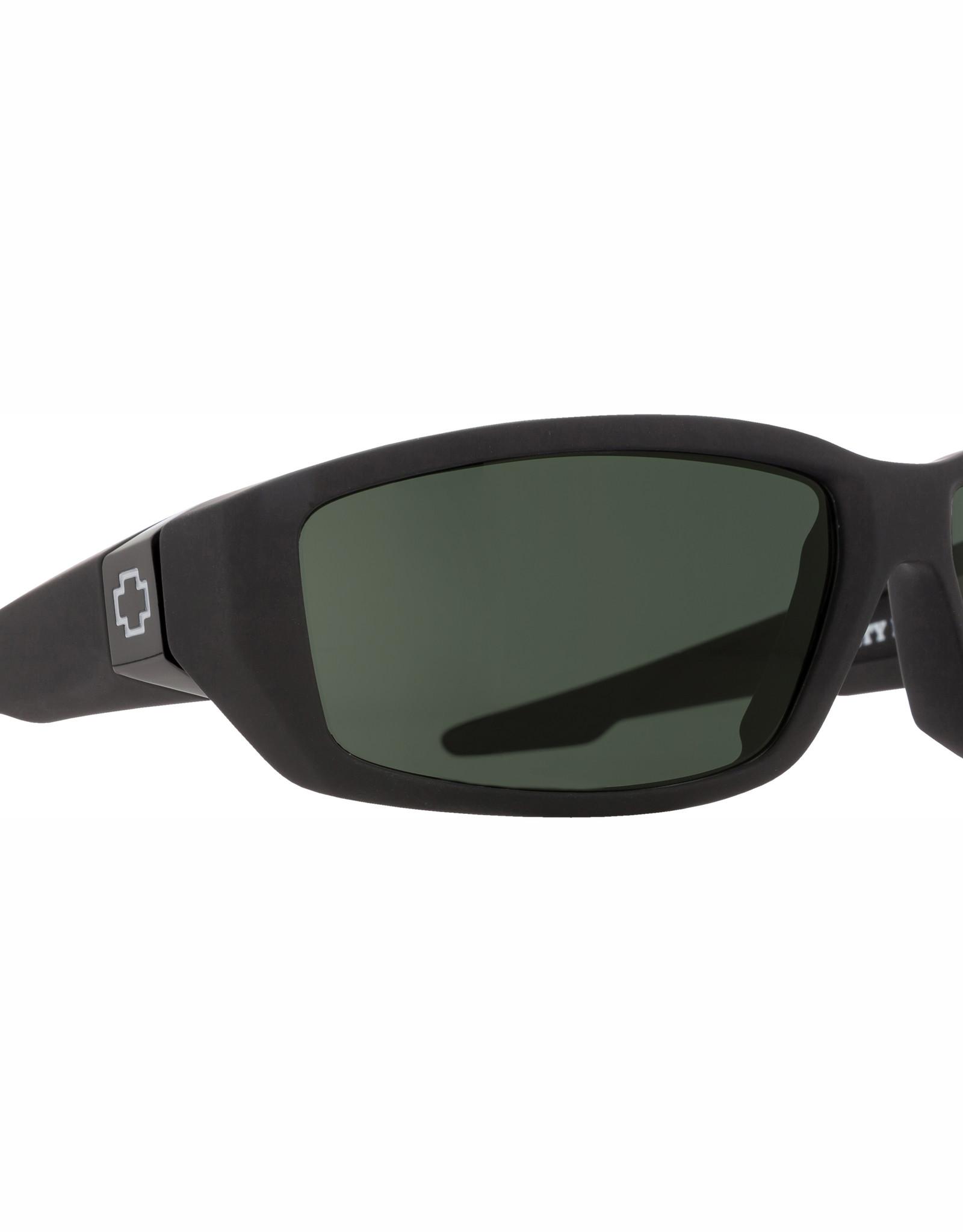 Spy Dirty Mo Soft Matte Black HD Plus Gray Green